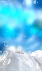 fantasy ice burg