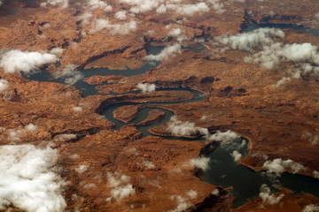sinuous river