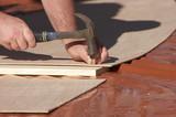 hammering a nail poster