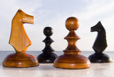 combination from chessmen poster