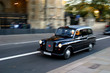canvas print picture - london taxi