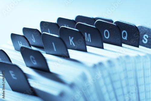 alphabetic organizer