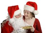 thank you santa! poster