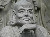 buddhist religious sculpture poster