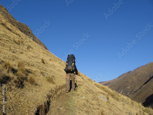 backpacking in the cordilleras