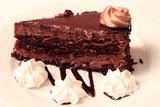chocolate dessert poster