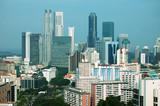 singapore city view poster