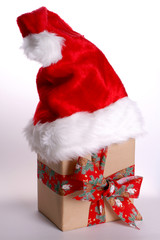 ein paket vom weihnachtsmann