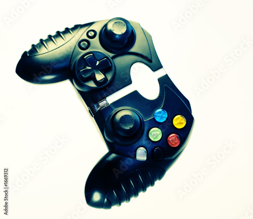 poster of  video game control pad