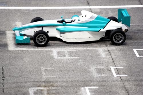 Foto op Canvas Snelle auto s grand prix