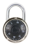 a combination lock poster