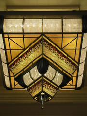 ornate light fixture
