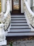 ornate entry steps poster