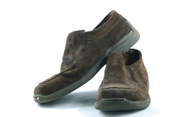 old casual shoes