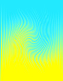 wavy patterned abstract background 2 poster