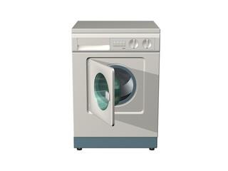 lave-linge waschende maschine