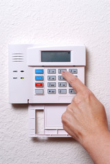 stock photo of alarm system