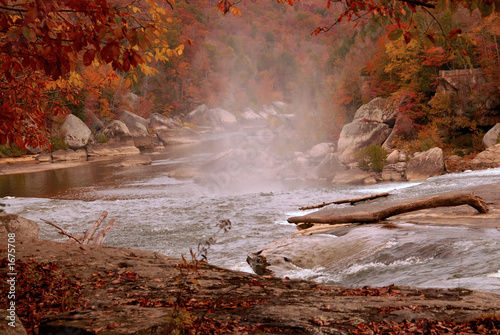 cumberland river in autumn