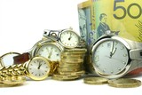 lots of time and money poster