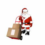 santa delivery 3 poster