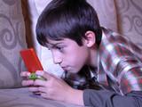 boy playing video game 1 poster