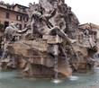 the nile river - fontana dei quattro fiumi