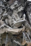 the ganges river - fontana dei quattro fiumi