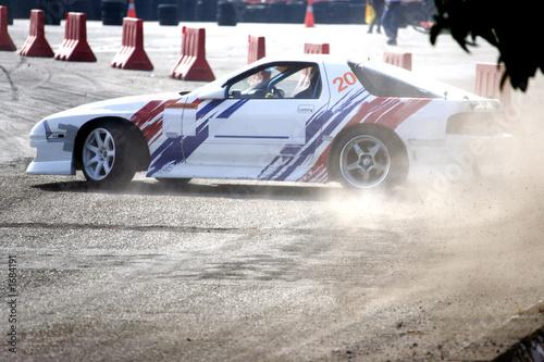 Foto op Canvas Snelle auto s drift racing