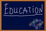 education (blackboard) poster