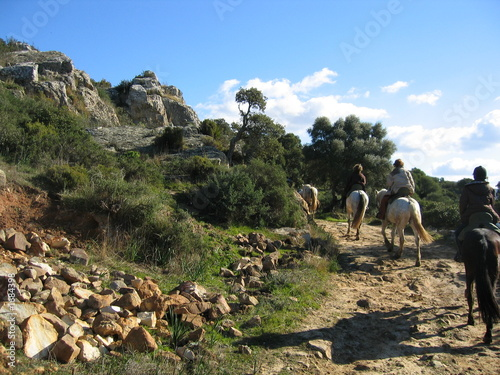 reiten in andalousien