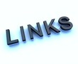 links 3d sign