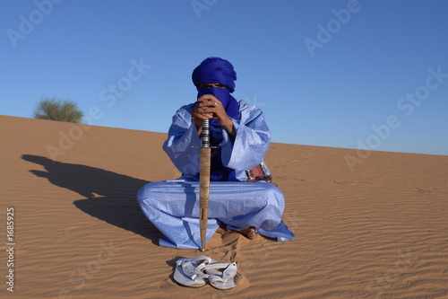 Fotobehang Algerije touareg