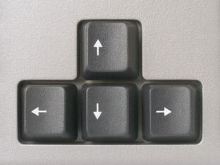 arrows (computer keyboard)