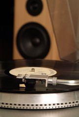 gramophone and black vinyl 6