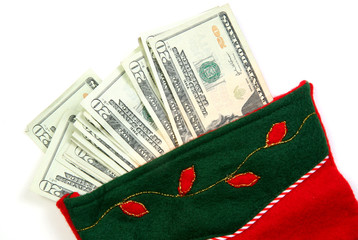 green money sock