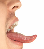 mouth and tongue poster