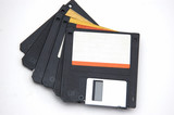 set of floppy disks poster