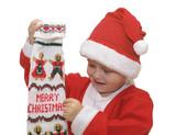 merry christmas from little santa poster