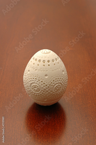 hand carved egg