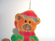 plastic bear decoration