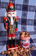 kingly nutcracker with mixed nuts