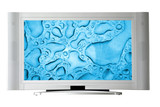 widescreen television poster