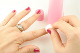 nail polish remover poster