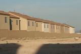 stucco houses poster