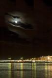 night bridge, saint petersburg, russia poster