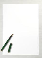 write letter paper pen