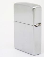 silver zippo lighter