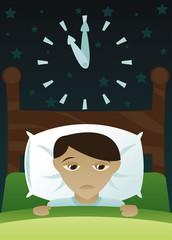little boy's got insomnia