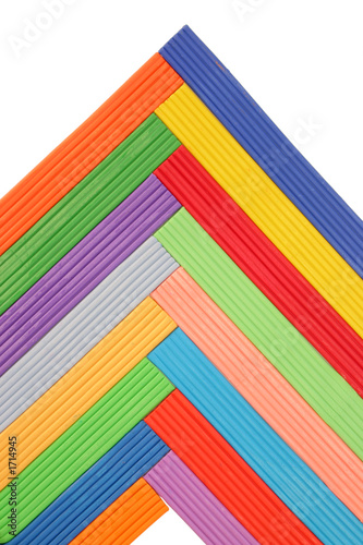 colorful plasticine pattern
