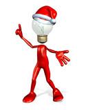 christmas gift idea guy poster